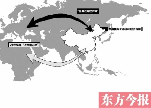 """""""一带一路""""路线图发布 打造郑州内陆开放型经济高地"""