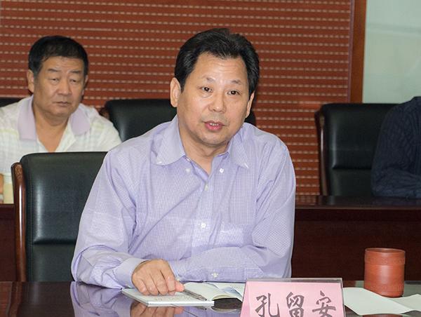 河南科技大学领导班子举行