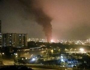 郑州停车场大火起因_郑州| 香港停车场起火 近10次爆炸浓烟冲天 暂列为案