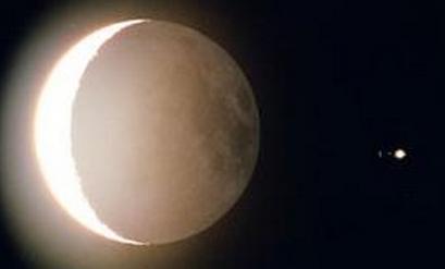 木星合月24日上演