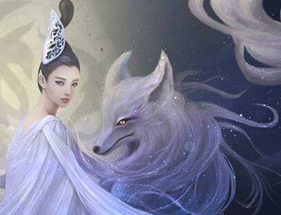 传说大禹治水时经过涂山,见九尾白狐,就在涂山娶妻生子,其子启,后来