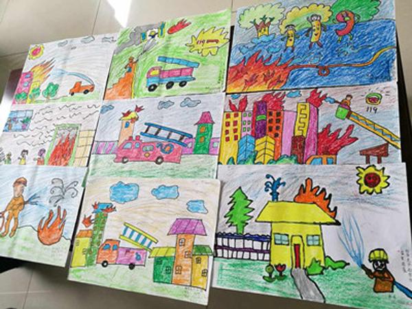 南阳市公开征集儿童消防绘画作文书法作品