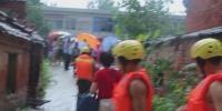 强降雨致37人被困  固始消防成功解救疏散 - 消防网