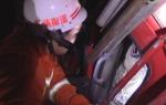 四车连环相撞一人被困    项城消防成功营救 - 消防网