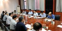 校长杨小林等深入评建办指导并安排部署下一阶段审核评估迎评工作 - 河南理工大学