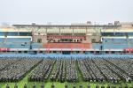 学校举行2017级新生军训动员大会 - 河南理工大学