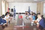 外联处暑假期间走访地方校友分会 - 河南理工大学