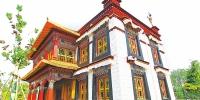 郑州园博园预览:不去高原中原也能看纯正的西藏建筑 - 河南一百度