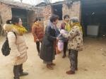 南乐县红十字会开展寒冬送温暖活动 - 红十字会