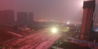 万吨级连续梁将跨过京广铁路 农业路高架东西向年底将全线通车 - 河南一百度