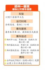 郑州—晋城开通全国首条跨省公交 法定节假日、周末还能免费坐 - 河南一百度