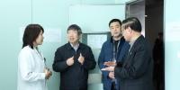 校长刘炯天院士到第一附属医院调研科研团队建设工作(图) - 郑州大学