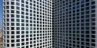 """密集恐惧症者慎入!郑州""""X""""形大楼安装3000多窗户 - 河南一百度"""