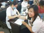 卫辉市红十字会开展造血干细胞捐献志愿者血样采集活动 - 红十字会