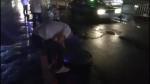 """窨井盖夜间玩""""弹跳"""" 郑州四辆汽车受了伤 - 河南一百度"""