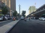 河医立交西建设东路南侧新公交站点 - 河南一百度