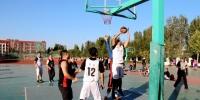 郑州高新区第一届全民运动会篮球比赛落幕 我校荣获冠军 - 河南工业大学