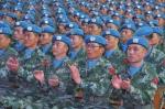 中国第五批赴南苏丹(朱巴)维和步兵营成立 700官兵为国出征 - 河南一百度