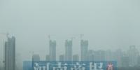 """重污染上周末来袭 郑州按下今冬首个""""黄色键"""" - 河南一百度"""