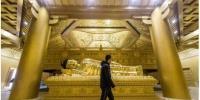 """太原复建唐代舍利塔 用65吨纯铜打造""""黄金""""地宫 - 河南频道新闻"""
