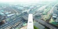 郑州西四环成功上跨陇海铁路 - 河南一百度