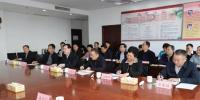 省考评组对省供销社综治平安建设工作进行考评 - 供销合作总社