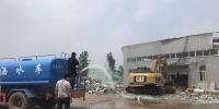 郑州西三环沿线拆除违建,规划开挖千亩生态湖! - 河南一百度
