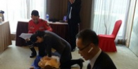 河南省红十字培训中心培训 南阳市建业森林半岛假日酒店员工学急救 - 红十字会