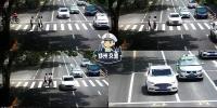 不礼让斑马线抓拍一周,郑州2298辆机动车被罚,这仨路口最多 - 河南一百度