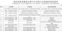 """明天,郑州多个办事大厅周末""""不打烊""""!市民暂可办理239项便民事项 - 河南一百度"""