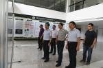 张宝明到省部共建作物逆境适应与改良国家重点实验室大楼调研指导工作 - 河南大学