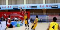 全国少数民族运动会珍珠球男子决赛 四川队夺冠 - 中国新闻社河南分社