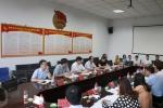 团中央基层建设部部长齐虎一行来校调研共青团工作(图) - 郑州大学