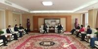 刘延生在郑州会见鹤壁市市委书记、市长一行 - 供销合作总社
