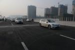 郑州西四环(陇海路立交桥—莲花街)高架主线试通车 - 河南一百度