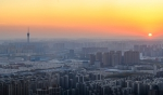美到窒息!郑州冬日最美夕阳上线,这组图你打几分? - 河南一百度