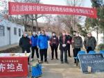 省总工会党员志愿者积极参与社区疫情防控工作 - 总工会
