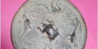 古玩城2020精品推荐第二期:明代皇宫女仕专用双凤凰铜镜 - 郑州新闻热线