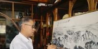 金牛贺岁 弘扬艺术——立体中国山水画创始人张向宏最新作品鉴赏 - 郑州新闻热线