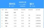 郑州至银川高铁开通 5个多小时即可到达 - 河南一百度
